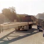 convoyeur 500m de long x 45m de haut 2 virages