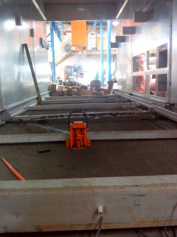 Montage four industriel sur le Territoire de Belfort par AB Service