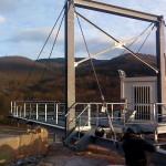 Installation de quatre convoyeurs plus structure dans une carrière pour chargement de train dans le carrières de trapp à wisches (67)
