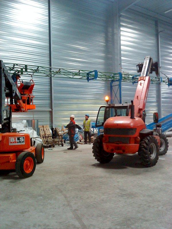 montage convoyeur en recyclage à Montluçon