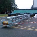 Opérations de montage-levage pour l'installation d'un convoyeur pour Euralis à Lescart (64)