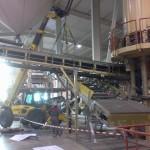 montage levage assemblage de convoyeurs Netco System pour Wienerberger