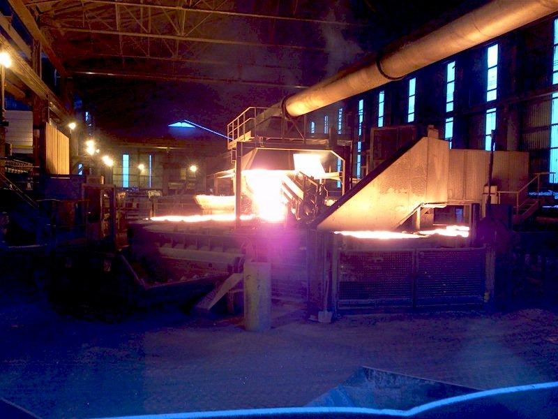 usine Ferropem La Léchère (73) convoyeur et charpente métallique