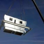 AB Service chantier Euralis 2012 - levage égrenoirs