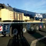 AB Service chantier Euralis 2012 - grue 250 Tonnes